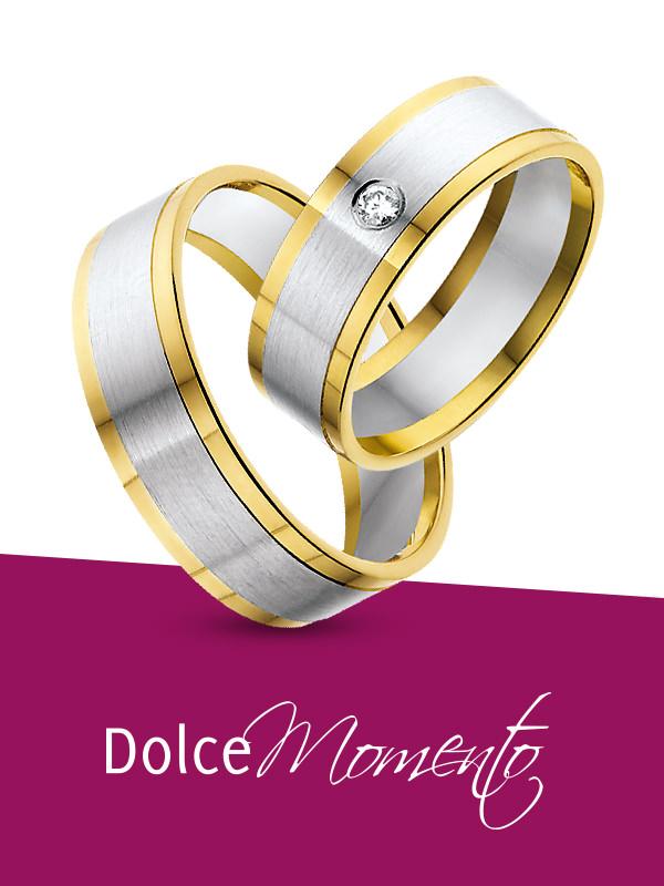 Dolce Momento trouwringen