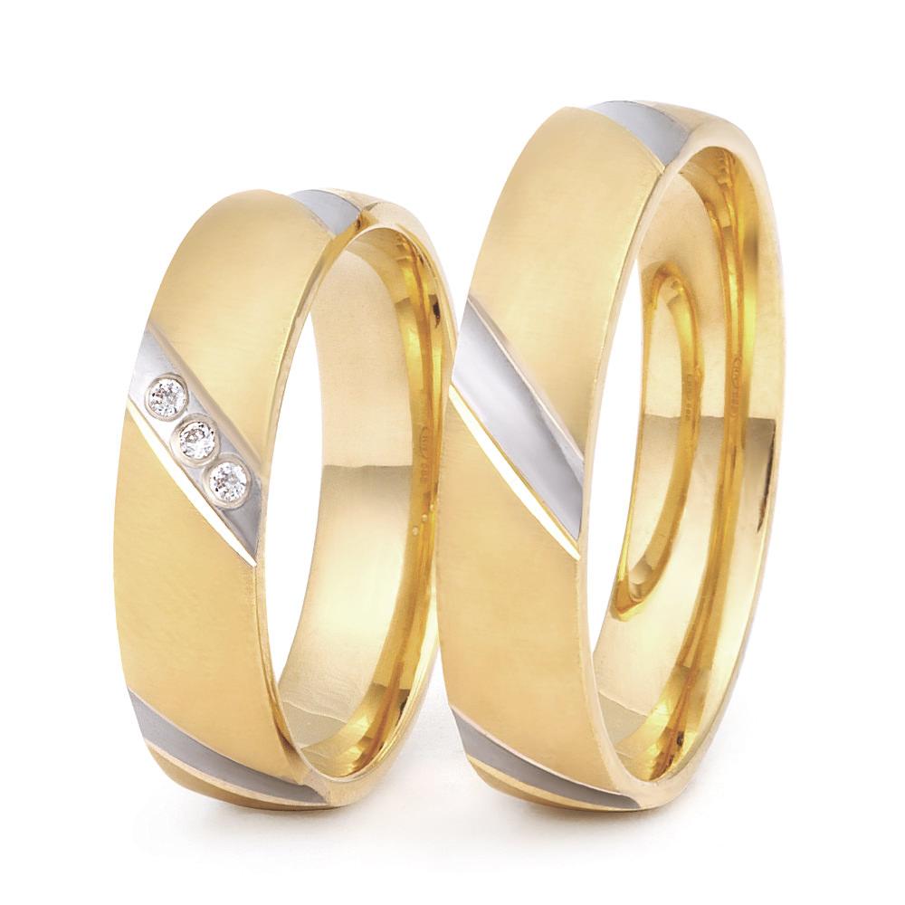DM 1 trouwringen - Dolce Momento