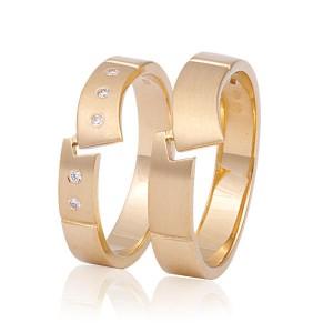 FaM 6 trouwringen - Fatto a Mano