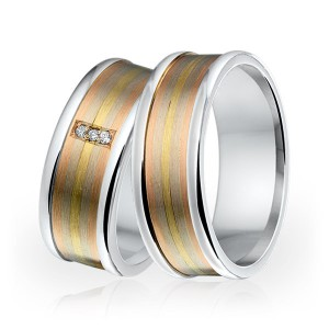 SI 14 trouwringen - Sorriso Infinito