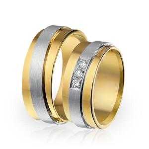 SI 17 trouwringen - Sorriso Infinito