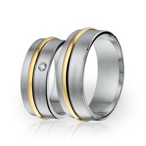 SI 18 trouwringen - Sorriso Infinito