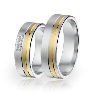 SI 2 trouwringen - Sorriso Infinito