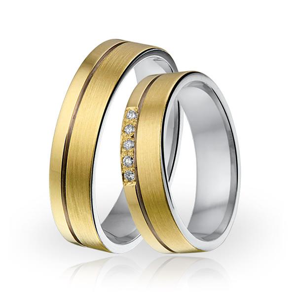 SI 3 trouwringen - Sorriso Infinito