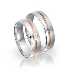 SI 33 trouwringen - Sorriso Infinito