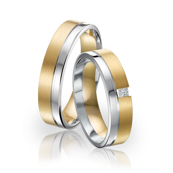 SI 34 trouwringen - Sorriso Infinito