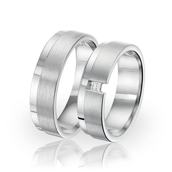 SI 35 trouwringen - Sorriso Infinito