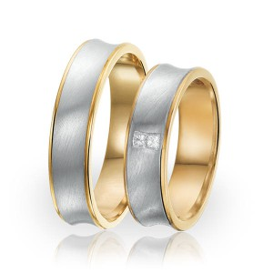 SI 41 trouwringen - Sorriso Infinito