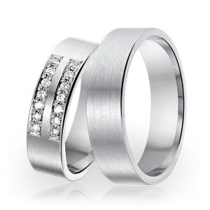 SI 5 trouwringen - Sorriso Infinito