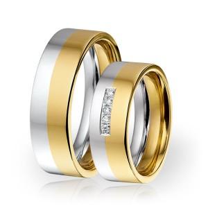 SI 7 trouwringen - Sorriso Infinito