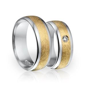SI 8 trouwringen - Sorriso Infinito
