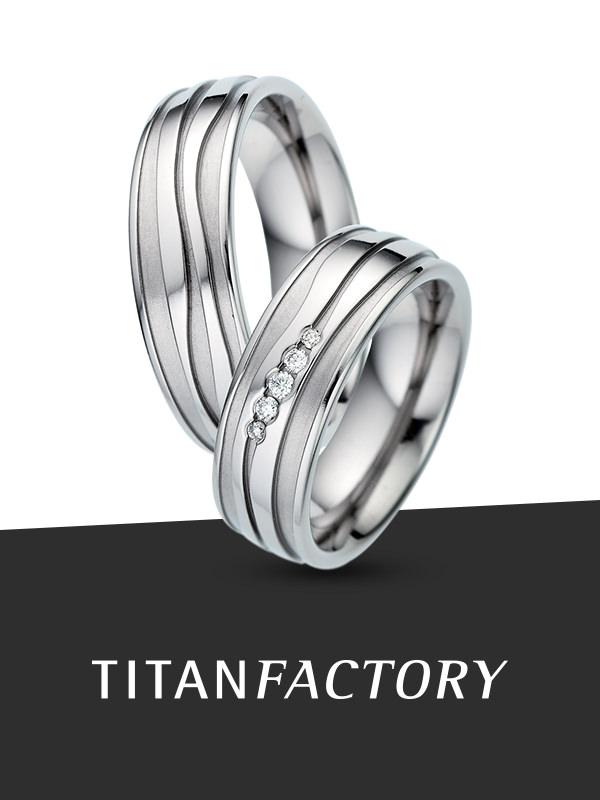 TitanFactory - titanium trouwringen
