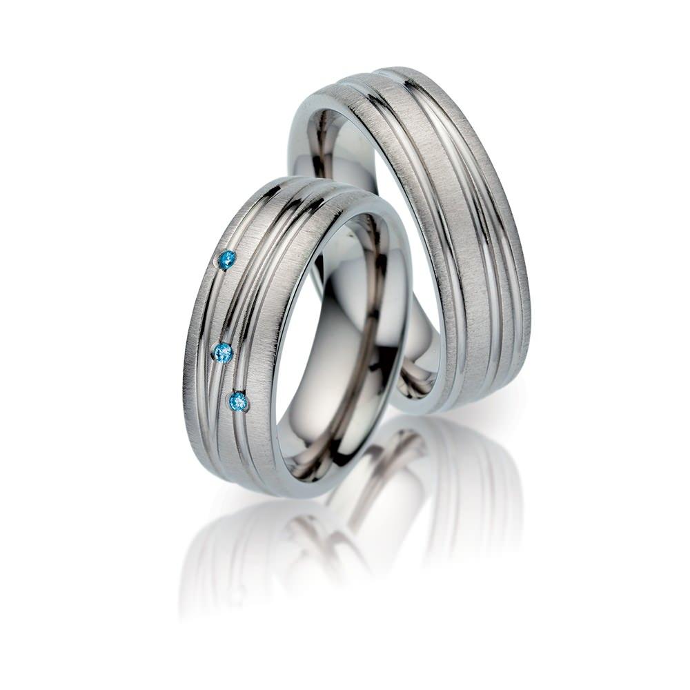 TF 22 titanium trouwringen - TitanFactory