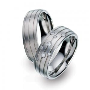 TF 33 titanium trouwringen - TitanFactory