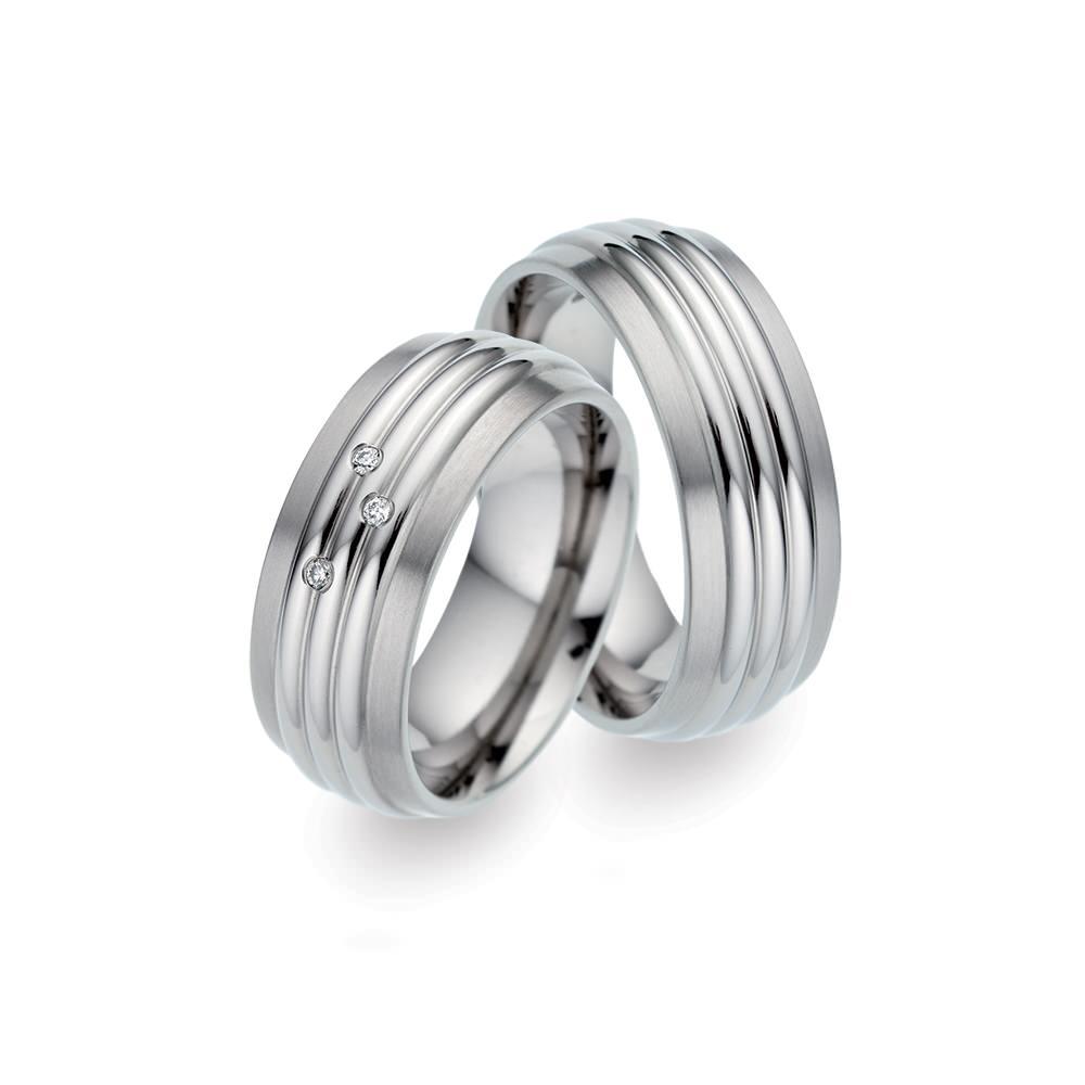 TF 34 titanium trouwringen - TitanFactory