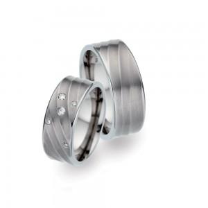 TF 35 titanium trouwringen - TitanFactory