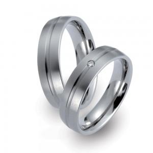 TF 39 titanium trouwringen - TitanFactory
