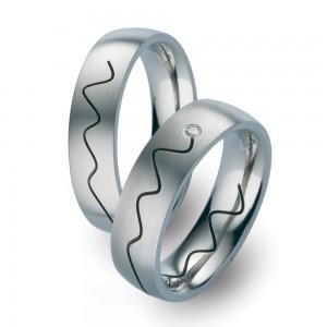 TF 42 titanium trouwringen - TitanFactory