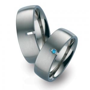 TF 7 titanium trouwringen - TitanFactory